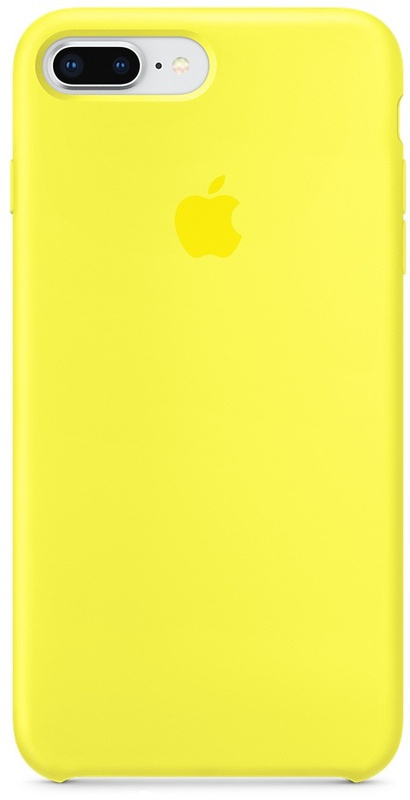 Накладка Apple iPhone 7 Plus/8 Plus Silicon Case (Желтый)