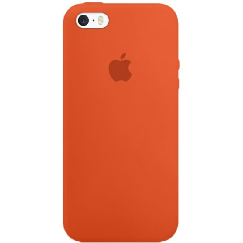 Накладка Apple iPhone 7/8 Silicon Case (Оранжевый)
