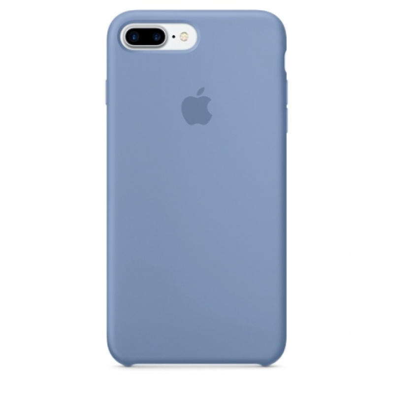 Накладка Apple iPhone 7 Plus/8 Plus Silicon Case (Бледно-синий)