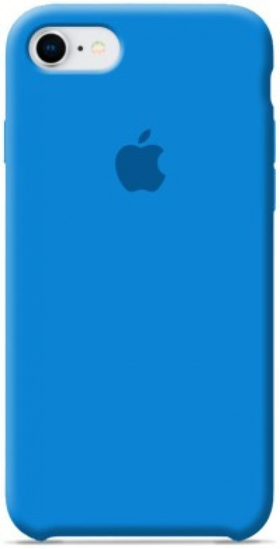 Накладка Apple iPhone 7/8 Silicon Case Sale (Голубой)